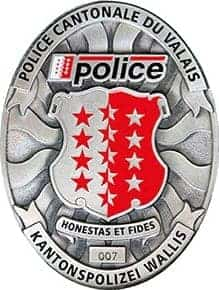Organigramme de la Police cantonale valaisanne